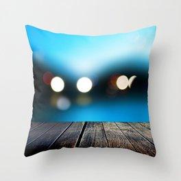 Evening berth Throw Pillow
