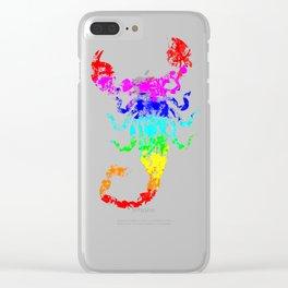 Scrumptious Scorpion Clear iPhone Case