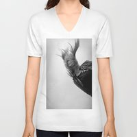 wind V-neck T-shirts featuring Wind by Renata's Photobox