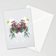 Inknograph XI - Inkblot Art Stationery Cards