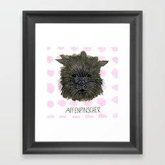 Affenspinscher Framed Art Print