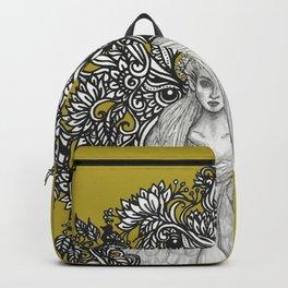 Swan Dragon Fae Backpack