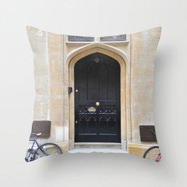 Doors Oxford 4 Throw Pillow
