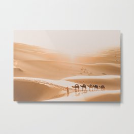 Saharan Sunrise Metal Print