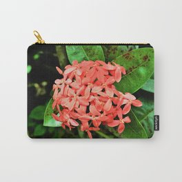 Pretty and Pink Minnesota Flowers Carry-All Pouch