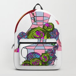 A Decor of Succulents on a Dress-form and a Cameo Backpack