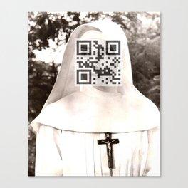 Audrey Hepburn (The Nun's Story) Canvas Print