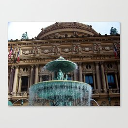 Las Vegas Fountain II Canvas Print