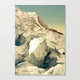 Vintage Mountains Canvas Print