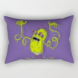 Snot Bot Rectangular Pillow