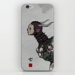 worm iPhone Skin