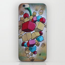 Cubist Grapes V2 iPhone Skin