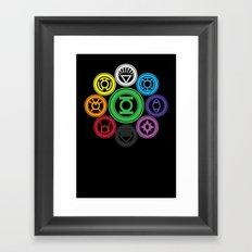 Living In Colour Framed Art Print