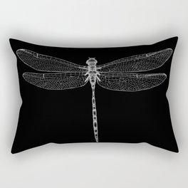 Night Flyer Rectangular Pillow