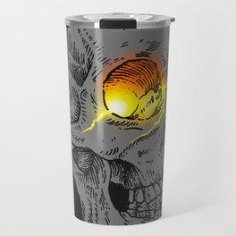 Broken eye Travel Mug