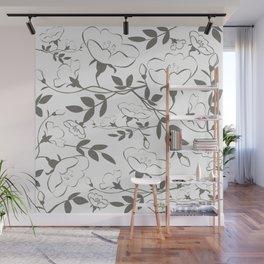 Ironside Flint Flora Wall Mural