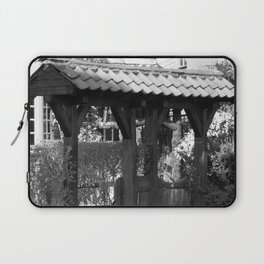 Wooden Gate Archway Laptop Sleeve