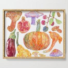 Seasonal Fruits Serving Tray