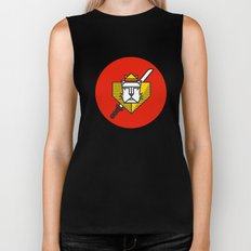 Gryffindor House Crest Icon Biker Tank