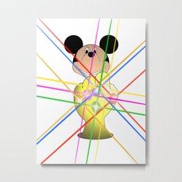 Infinity Mickey Metal Print