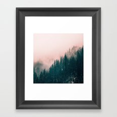 Pink Haze Framed Art Print