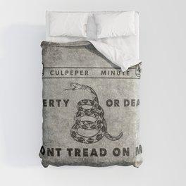 Culpeper Minutemen flag Grungy Comforters
