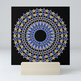 Holiday  Mandala Mini Art Print