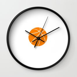 Winners Train, Losers Complain Basketball T-shirt Wall Clock