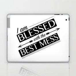 Blessed Mess Laptop & iPad Skin