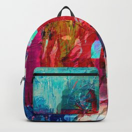Bob painting Backpack