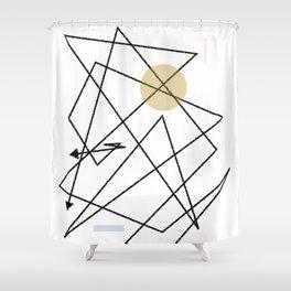 Comp_001 Shower Curtain