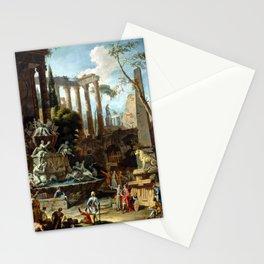 Sebastiano Ricci Marco Ricci Memorial to Admiral Sir Clowdisley Shovel Stationery Cards