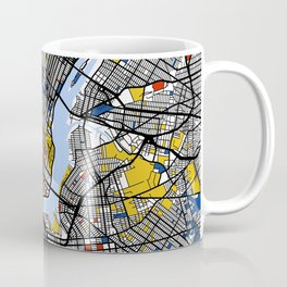 New York Mondrian Coffee Mug