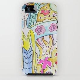 Bird Girl iPhone Case