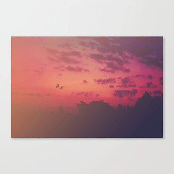 Love Runs Out Canvas Print