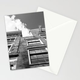 Dutch architecture in Amsterdam Stationery Cards