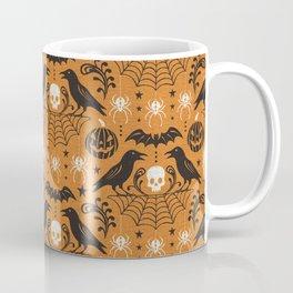 All Hallows' Eve - Orange Black Halloween Coffee Mug