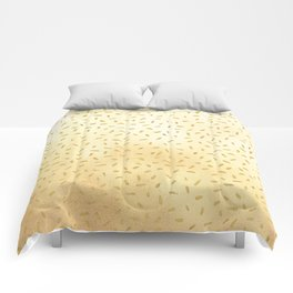 Gold Glitter Party Comforters