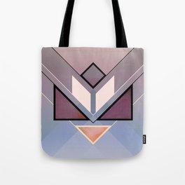 Tangram Lotus For Tote Bag