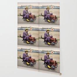 Barkin' Down the Highway! Wallpaper