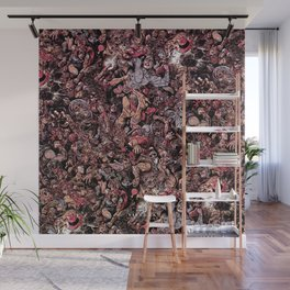 Infinite Battle Of Quantum Stacked SurReality Wall Mural