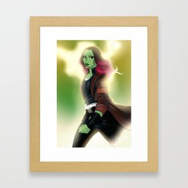 Deadliest Woman in the Galaxy Framed Art Print