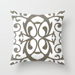 Art Deco Geometric Throw Pillow