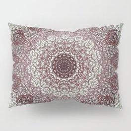 Antique Lace Mandala Pillow Sham