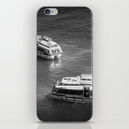 Two Tender Boats iPhone Skin