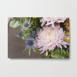 Dahlias in Bloom Metal Print