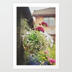 flowers... Art Print