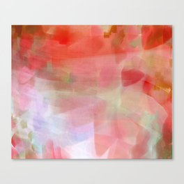 Wild Verbena - reds Canvas Print
