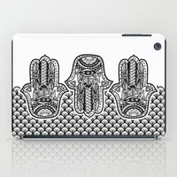 hamsa iPad Cases featuring Hamsa by Ale L