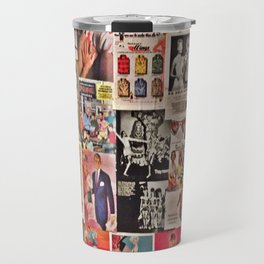 Retro Advertisements  Travel Mug